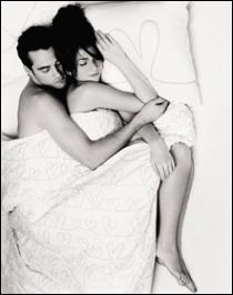 sleeping with someone