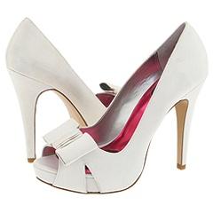 Rain white shoes