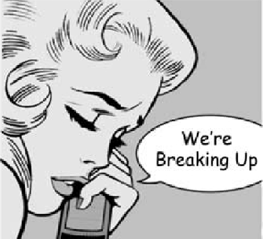 Breaking Up Isn't