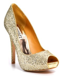 Photo: Badgley Mischka Peep Toe Platform Evening Pumps - Humbie IIwww.bloomingdales.com