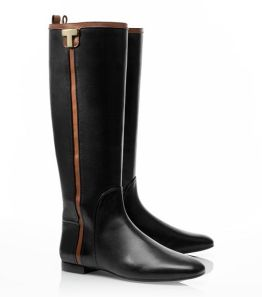 Photo: Tory Burch riding boots - Ericawww.toryburch.com