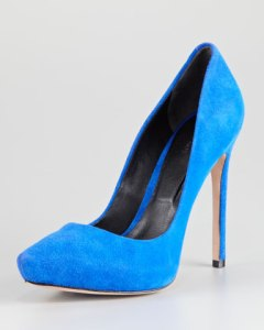 Photo: Rachel Roy suede hidden platform pumpswww.neimanmarcus.com