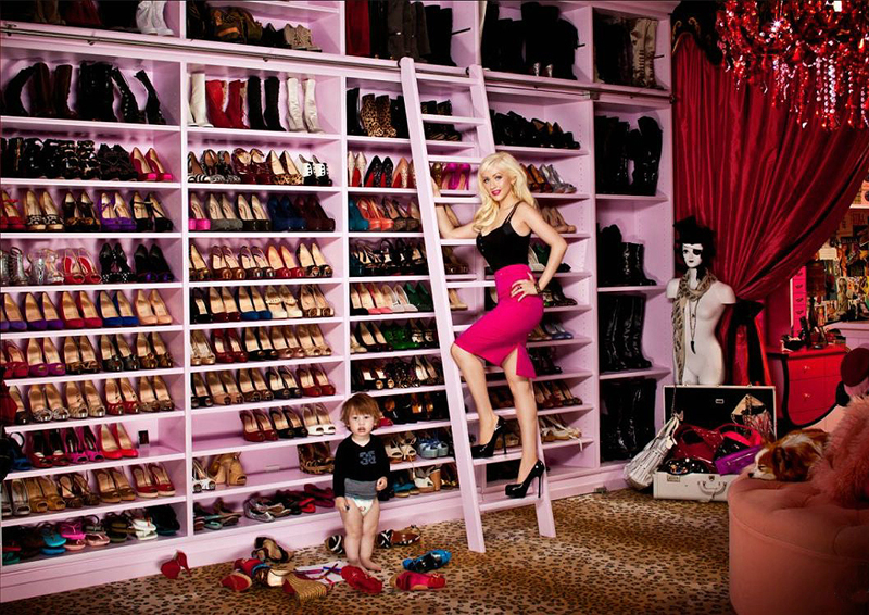 Youu0027re Shoe Closet May Not Look Like Christinau0027s, But It Can Be Just