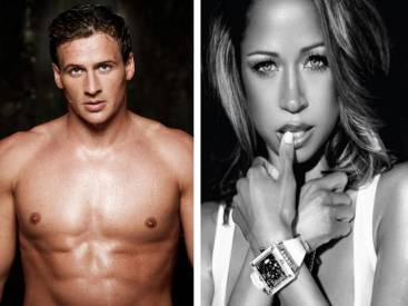 Photo credits: Ryan Lochte - Men's Health/ Stacey Dash - UrbanMogulLife.com
