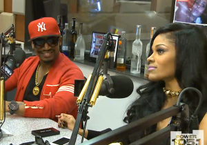 Photo: Stevie J and Joseline interview with the Breakfast Club