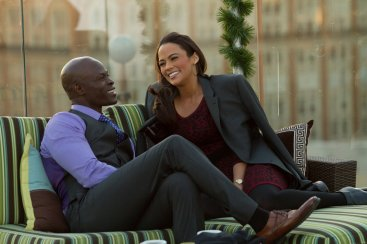 Photo - a snapshot from the movie, Baggage Claim via www.cleveland.com